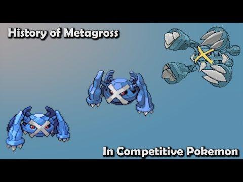 How GOOD was Metagross ACTUALLY? - History of Metagross in Competitive Pokemon (Gens 3-6)