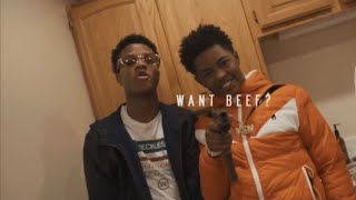 "YSN Flow - ""Want Beef?"" ft. BaeBae Savo (Official Music Video)"