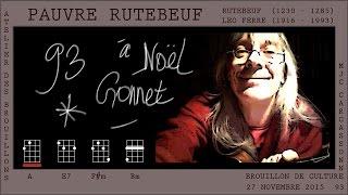 Pauvre Rutebeuf (Rutebeuf - Léo Ferré) - Atelier des brouillons