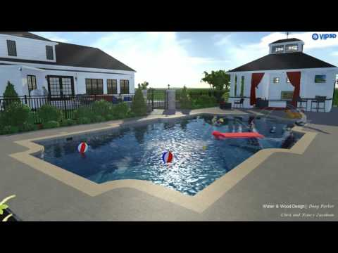 Anchorage Residence Pool and Pool House