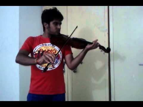 mohabbat barsa dena tu (violin cover)