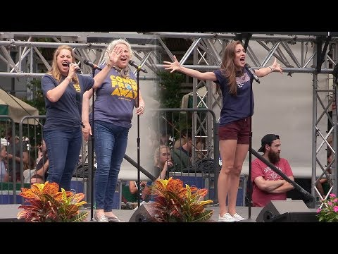 Stars of Bandstand, Come From Away, and More Perform at Broadway in Bryant Park
