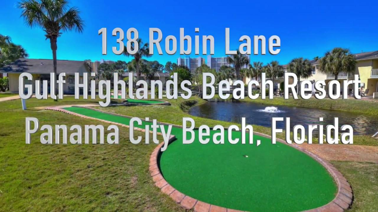 Vacation Al 138 Robin Lane Gulf Highlands Beach Resort Panama City Florida