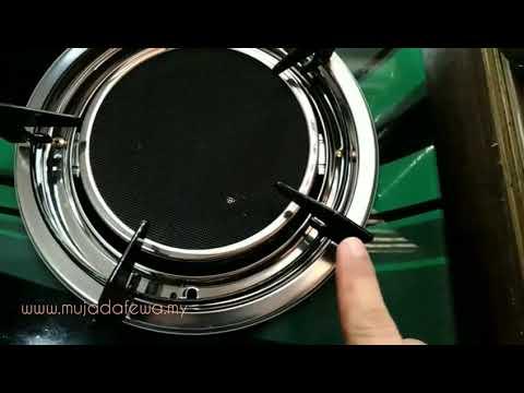 Review Mugen Glass Top Infrared Gas Cooker- Kali pertama beli barang CJ Wow Shop