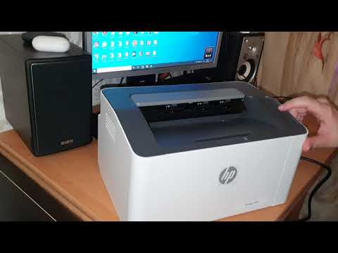 HP Laser 107w with Wi-Fi (4ZB78A)