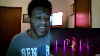 Ariana Grande - 7 rings - Dance Choreography by Jojo Gomez & Aliya Janell REACTION