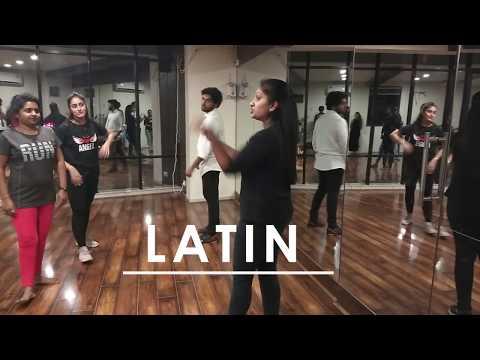 Dance  Workshop Day 1  (latin)| By Team Alabhya | Collaboration With MZ FIitnezz Hub .