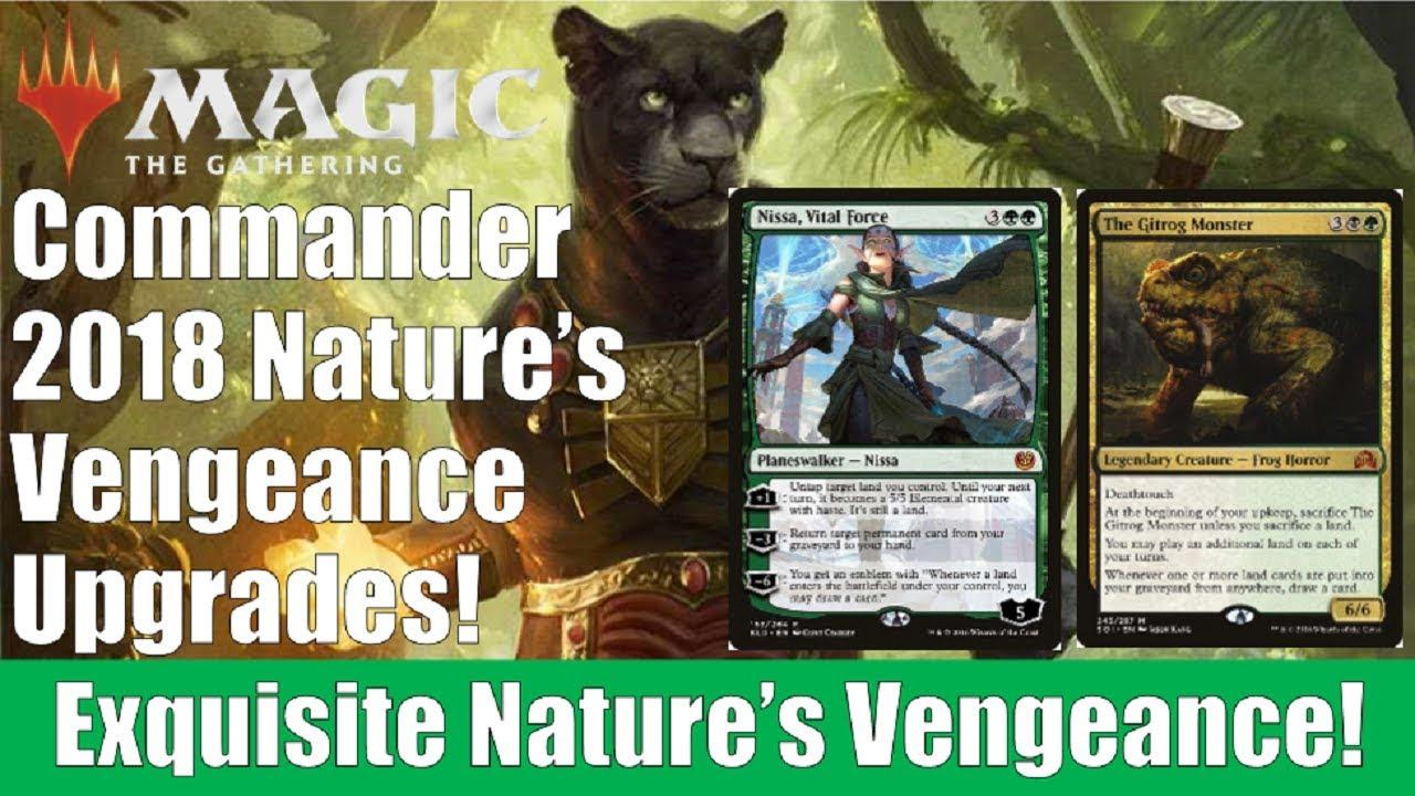 Commander 2018 Nature's Vengeance Upgrades | MTG Amino