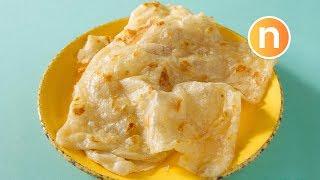 Roti Canai | Roti Pratha | 马来千层饼 Nyonya Cooking