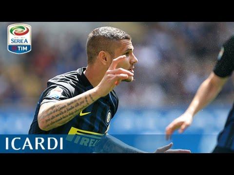 Il gol di Icardi - Inter - Milan 2-2 - Giornata 32 - Serie A TIM 2016/17