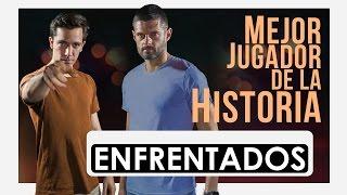 ENFRENTADOS · Mejor Jugador de la Historia ·