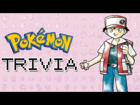 Pokemon Trivia - Trainer Red