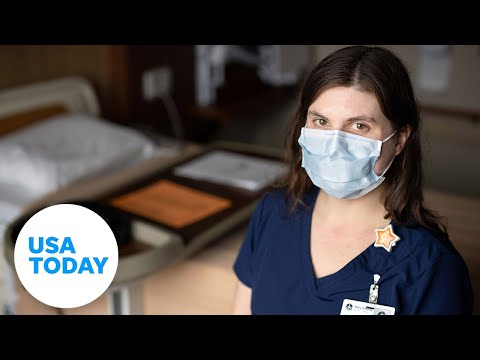 COVID nurse comforts dying patient in family's absence   USA TODAY