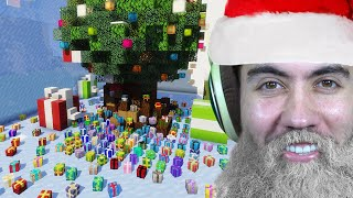 I Surprised People With Their Christmas Wish - Minecraft