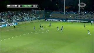 Libertad 2 - 1 Santiago Wanderers Copa Sudamericana 2015