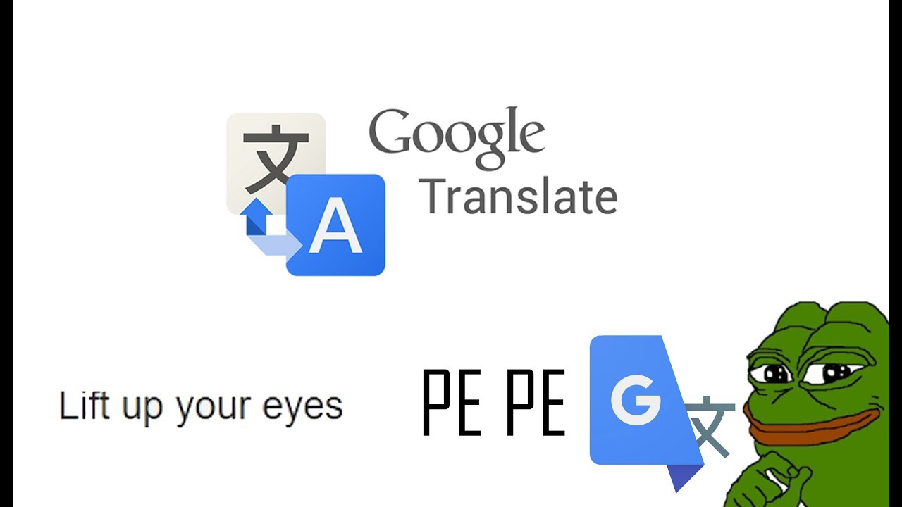 HIDDEN MESSAGES PEPE in GOOGLE TRANSLATE