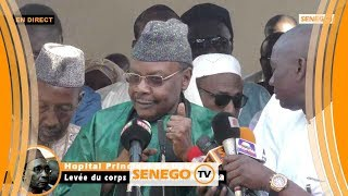 Levée du corps Ahmed Bachir Kounta: réaction Pape Malick Sy