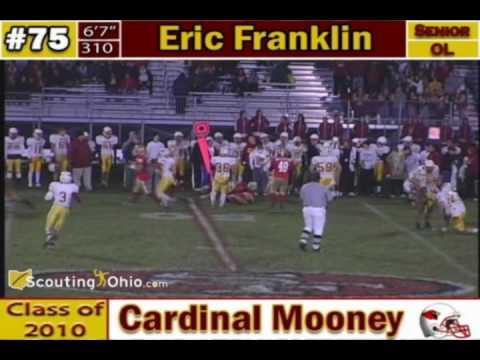 Eric Franklin - Cardinal Mooney football