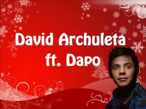 David Archuleta ft. Dapo - Drummer Boy w/ lyrics on screen
