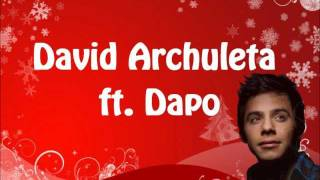 David Archuleta ft. Dapo - Drummer Boy w/ lyrics on screen
