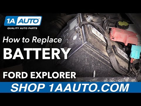 How to Replace Battery on a 11-19 Ford Explorer