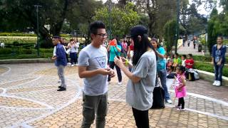 Baguio City Philippines.. The Proposal (The Mob) Marry you by Bruno Mars