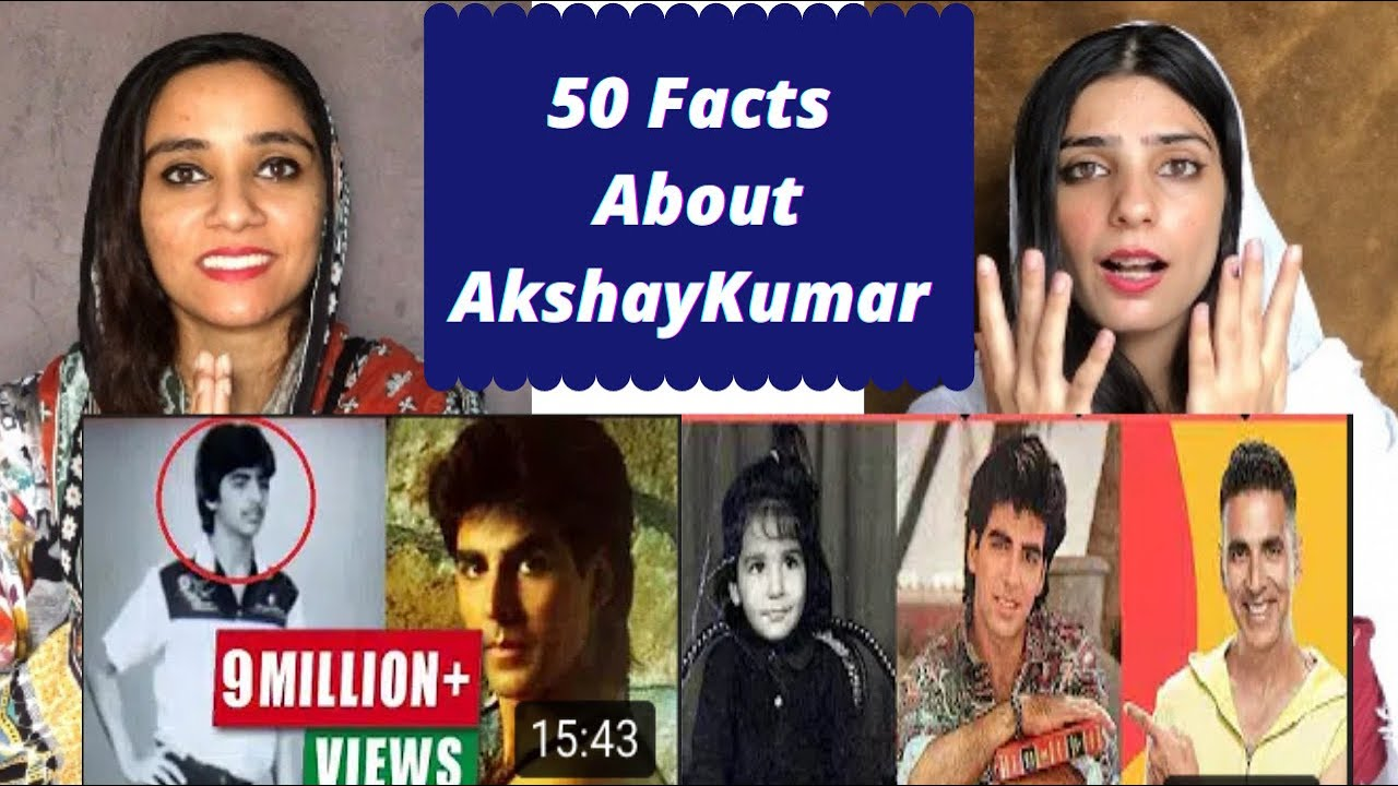 50 Facts You Didn't know About Akshay Kumar | Pakistani Reaction | Magisco Seher Nayab