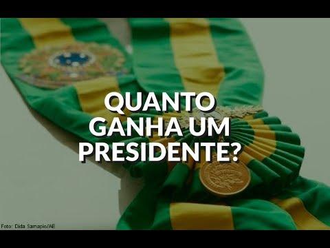 QUANTO GANHA O PRESIDENTE NO BRASIL? | Salário e benefícios