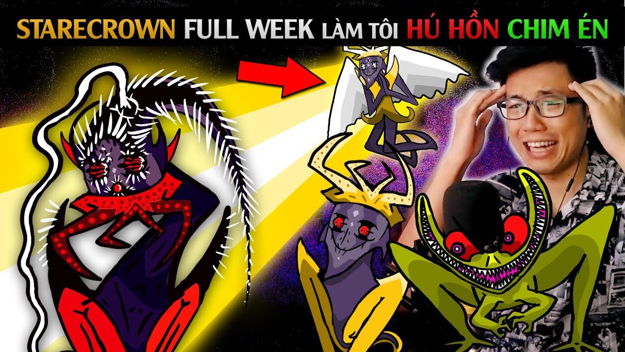 STARECROWN FULL WEEK LÀM TÔI HÚ HỒN CHIM ÉN / Friday Night Funkin' Dark Mod p9 / SpiderGaming 2020
