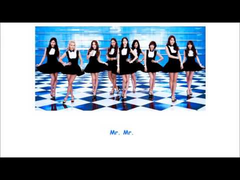 Mr. Mr. SNSD Lyrics [ENG+ROM]