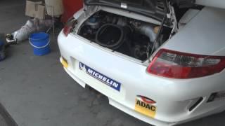 Porsche 997 GT3 Cup Start up Revs LOUD SOUND FULL HD 1080p