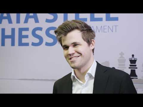 Tata Steel Chess 2018 - Interview - Magnus Carlsen - Round 8