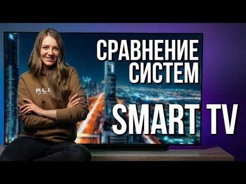 Сравниваем системы Smart TV