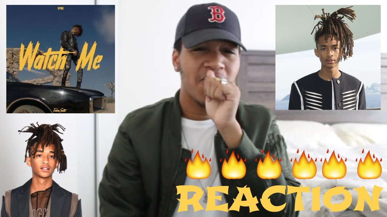 Watch me jaden smith reaction