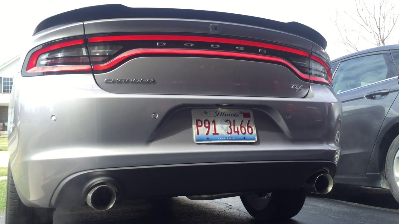 Loud 2015 Charger R T With Glasspack Exhaust Youtube