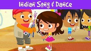 Salam Namaste, SaReGaMa & more | 15min Compilation | Indian Culture | Kids Videos | Jalebi Street