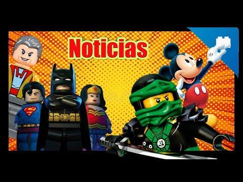 NOTICIAS: Mas Brickheadz Nuevos - Libros LEGO`s - GrandMaster en LMSH 2 - Estatuas de LEGO.