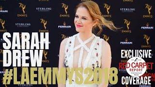 Sarah Drew #GreysAnatomy on the 70th Los Angeles Area Emmy® Awards Red Carpet #LAEmmys