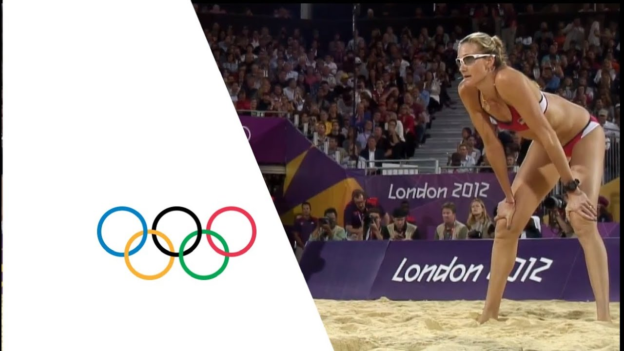London  Women S Beach Volleyball Youtube