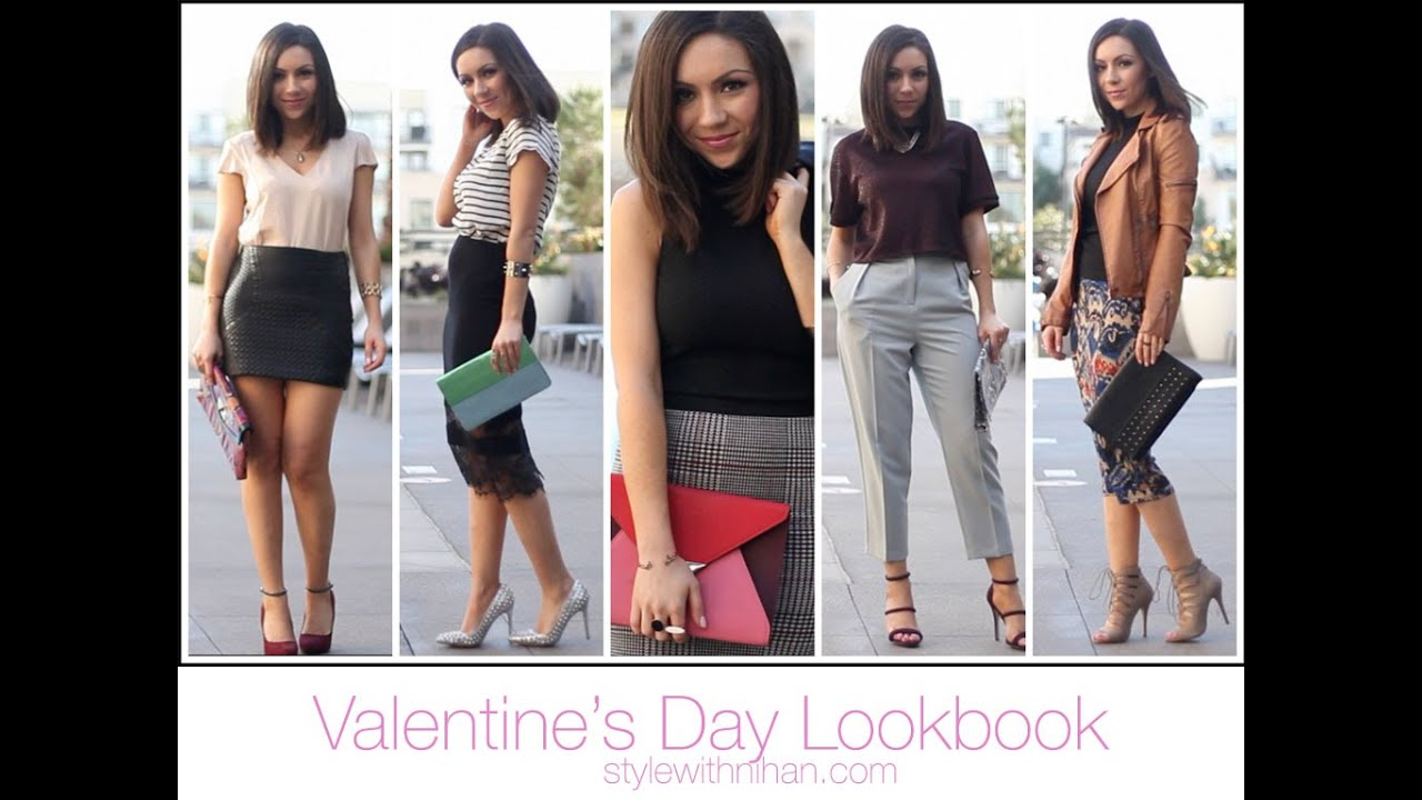 Valentine's Day Lookbook 2015 / Romantic & Date Outfits ...