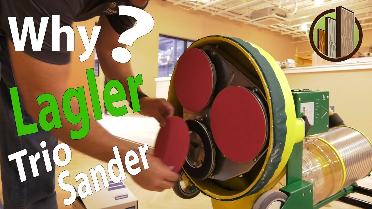 Why The Lagler Trio Sander For Our Showroom City Floor Supply Youtube