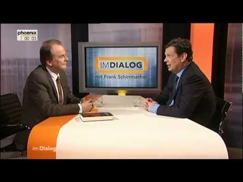 Alfred Schier mit Frank Schirrmacher IM DIALOG am 23.03.2013