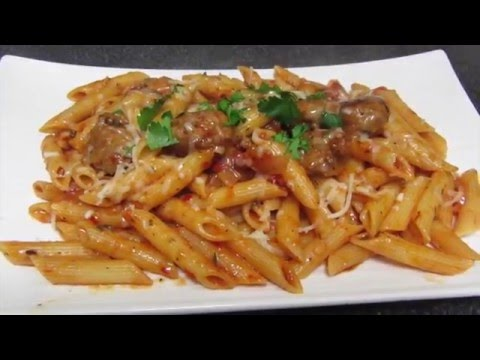Penne Pasta With Italian Sausage