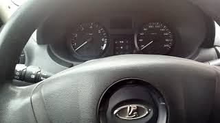 Как узнать сколько бензина осталось на Ладе Ларгус, Логан, Ниссан альмера