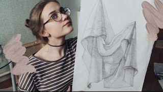 МОИ РАБОТЫ / Рисунки с Художественной Школы
