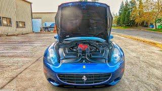 Сколько я потратил на ремонт сгоревшей Ferrari.