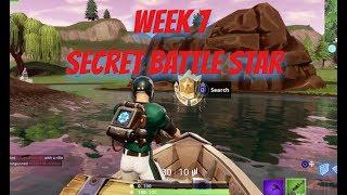 Week 7 Secret Battle Star Location - Season 6 - Fortnite