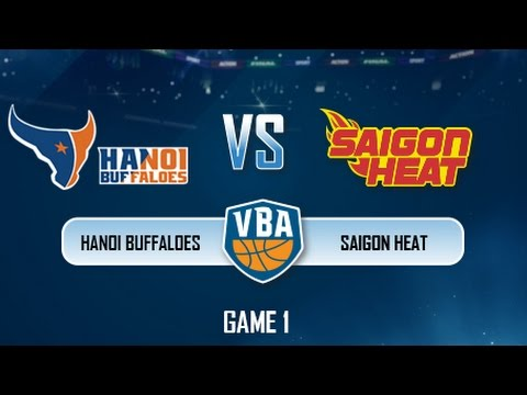 GAME 1 : Hanoi Buffaloes vs Saigon Heat (06.08)