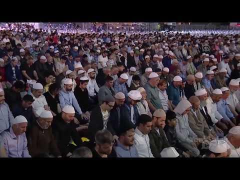 В Стамбуле провели Таравих-Намаз. Свыше 313 тысяч человек пришло