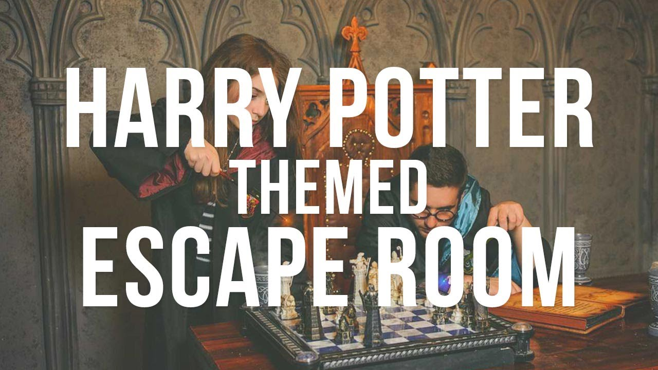 Harry potter themed escape room oxford hen party gohen for Escape room party